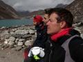 Everest un monstruo viene a verme en otoño a Nepal 3