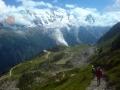 Panorámica en Alpes