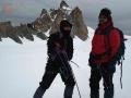 Plateau glaciar del Valeé Blanche