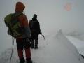 Aiguille du Midi: Su afilada arista