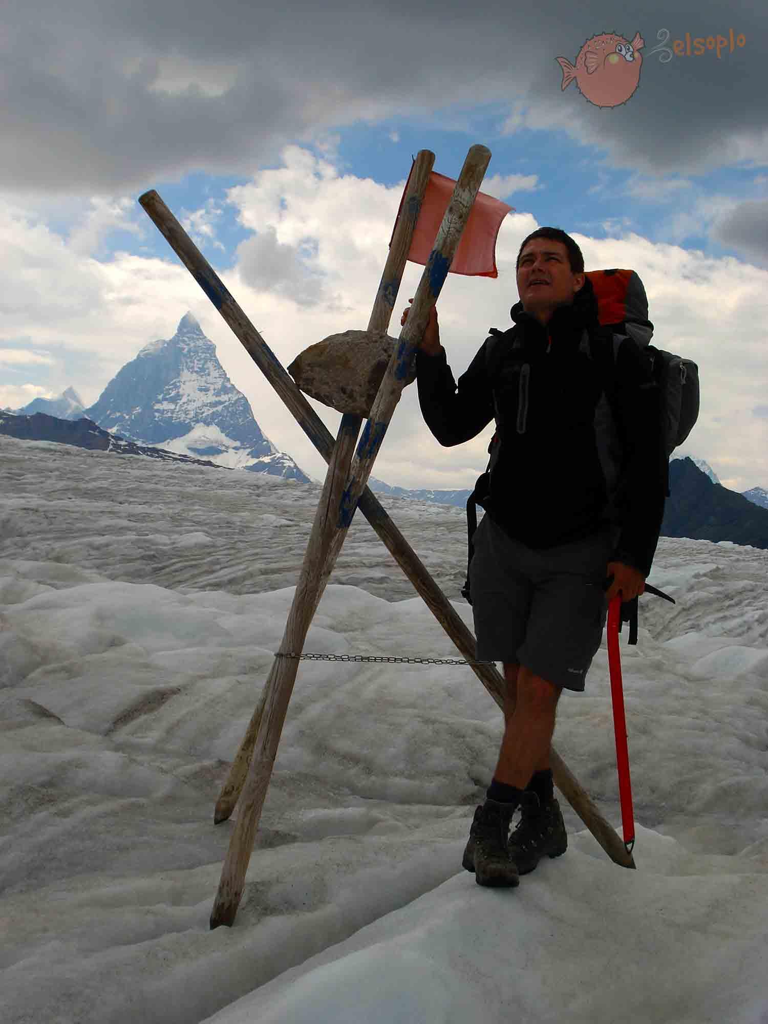 Glaciar Grenzgletscher y el Cervino