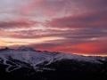 Atardecer en Andorra