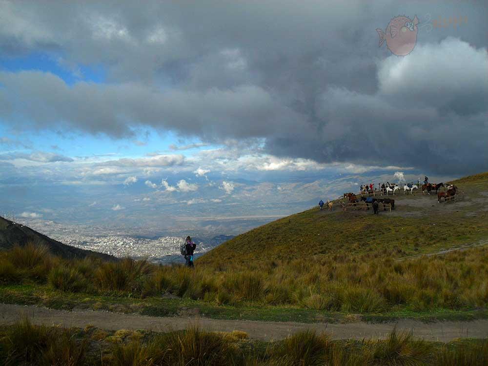 Hacia Quito