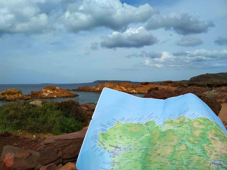 Norte de la isla de Menorca