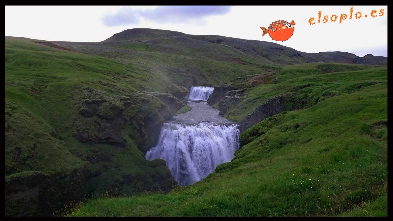Cascadas de Islandia
