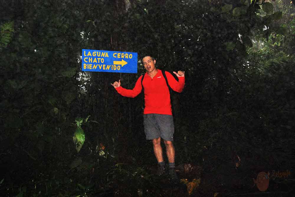 Hacia Laguna Cerro