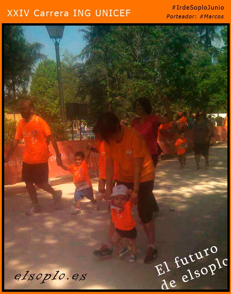 Carrera Ing unicef infantil