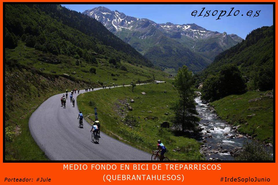 carrera en bici de treparriscos y quebrantahuesos