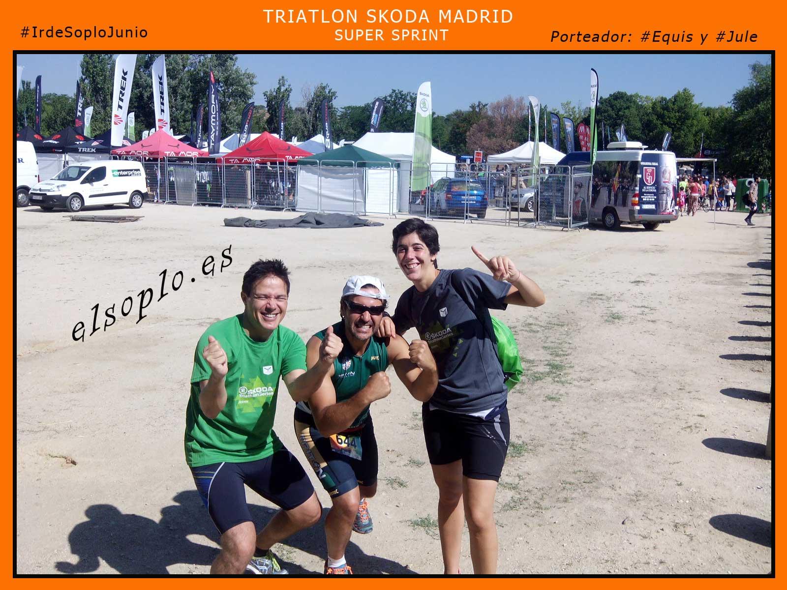 triatlon skoda Madrid