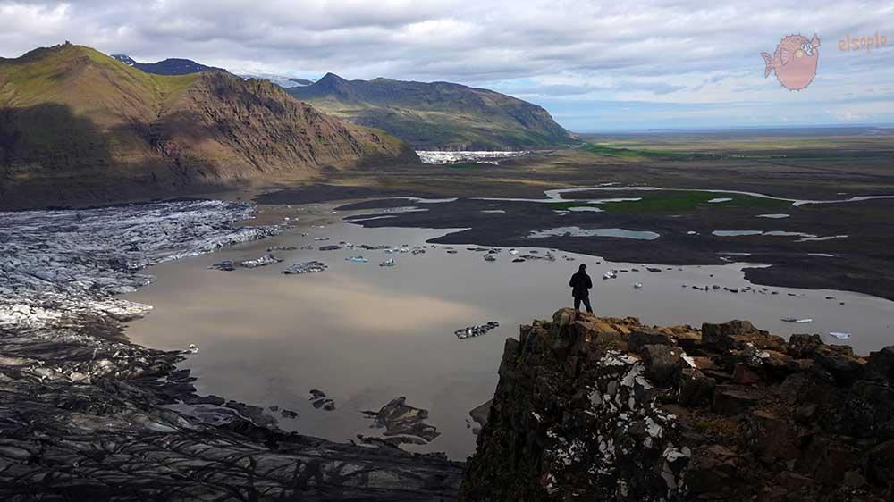 Desde el Glaciar Vatnajokull