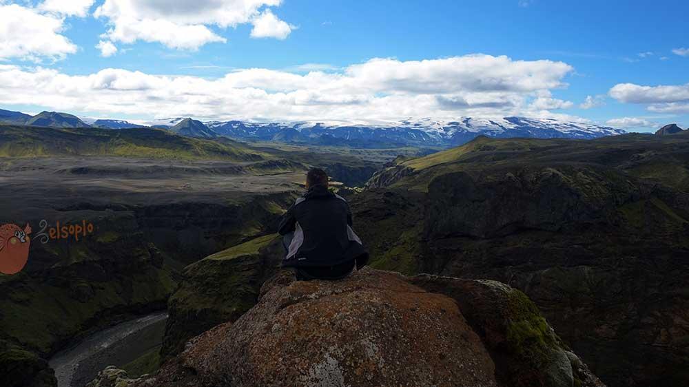 Islandia. Trekking en Landmannalaugar