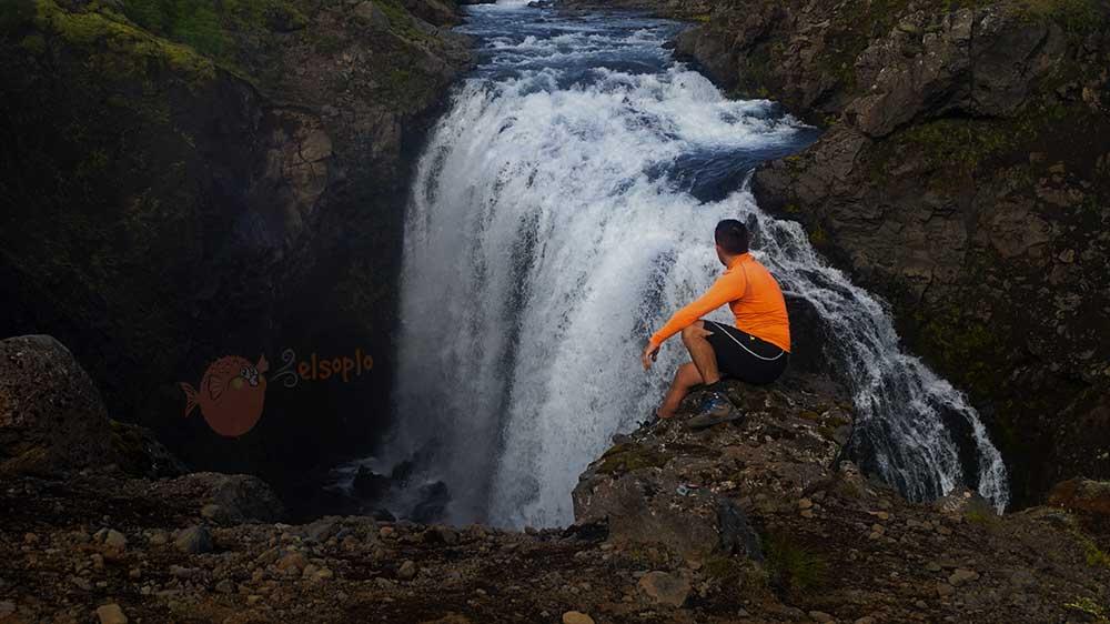 Cascadas de en Landmannalaugar