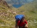 De espaldas al lago Certascan