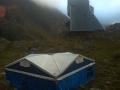 Refugio Pinet y Campamento de fortuna