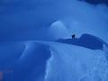 Subiendo el Mont Blanc