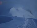 Niebla hacia el Mont Blanc