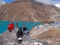 lago gokyo en Nepal