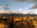Atardecer en el Parque Nacional de Guadarrama
