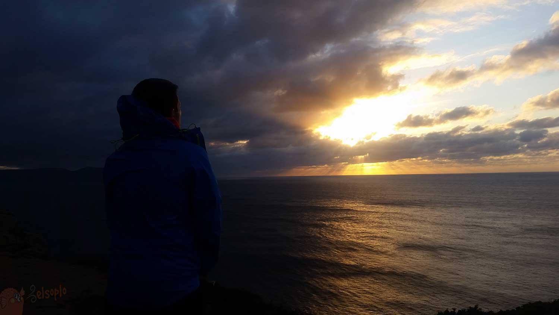 Estaca de Bares: Atardecer de ensueño